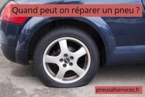 réparer un pneu