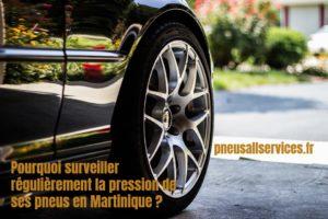 pression des pneus martinique