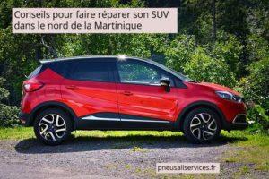 faire réparer son SUV au Nord de la Martinique