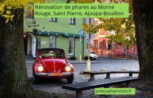 rénovation de phares au Morne Rouge, Saint Pierre, Ajoupa Bouillon Martinique